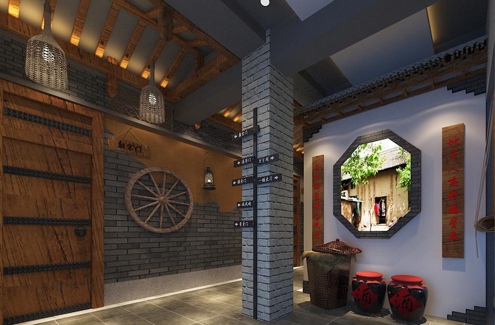 博兴城墙根主题餐厅 设计案例