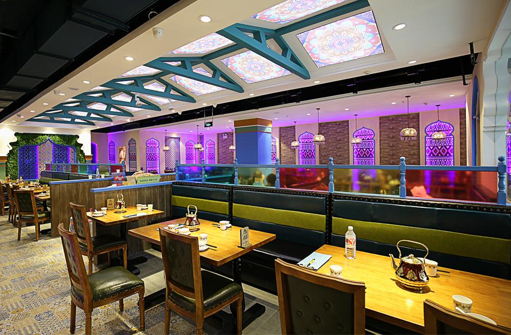 天山明珠 新疆餐饮 设计案例(东营店)